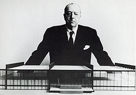 architecte allemand MIES