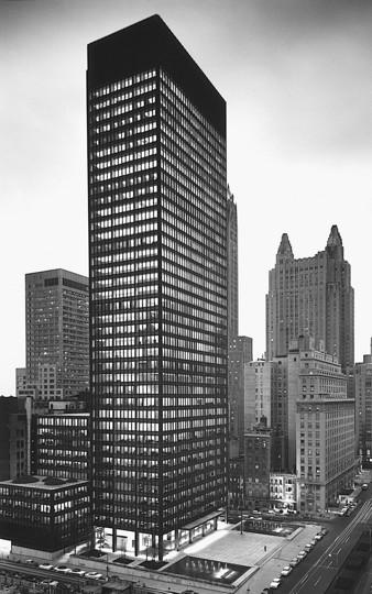 Seagram building à New York