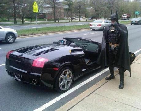 Batman a été arrêté et c'est pas une blague !