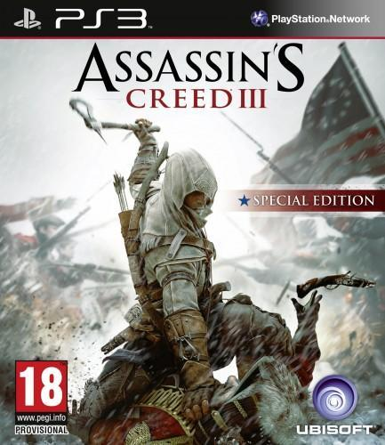assassin's creed 3,edition speciale, jaquette