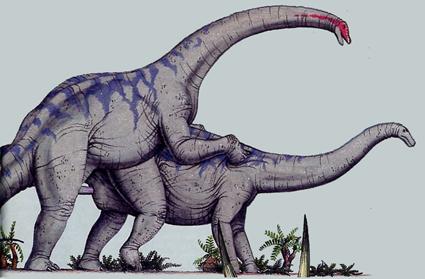 Brachiosaure, Sauropod-Style