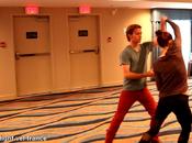Breaking Dawn Jackson s'entraînent danser