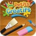 Kinder fait dessiner enfants iPad avec l'app gratuite Petits Créatifs