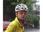 Française, deux Taiwanais, trois vélos beaucoup d'arbres