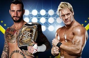 CM Punk était opposé à Chris Jericho pour le titre de Champion de la WWE