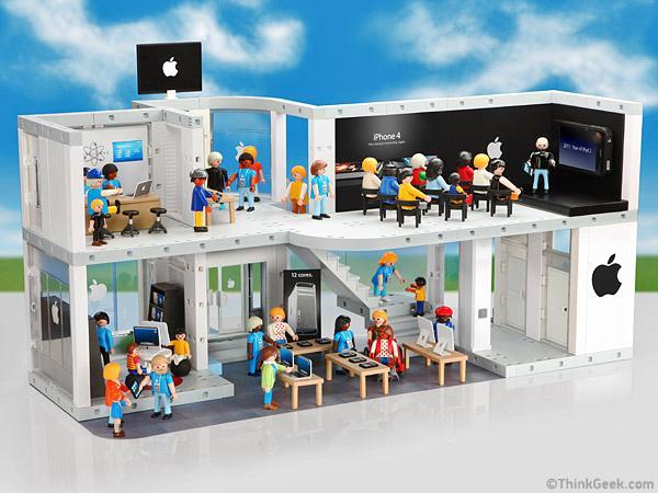 Un Apple Store Version Playmobil A Voir