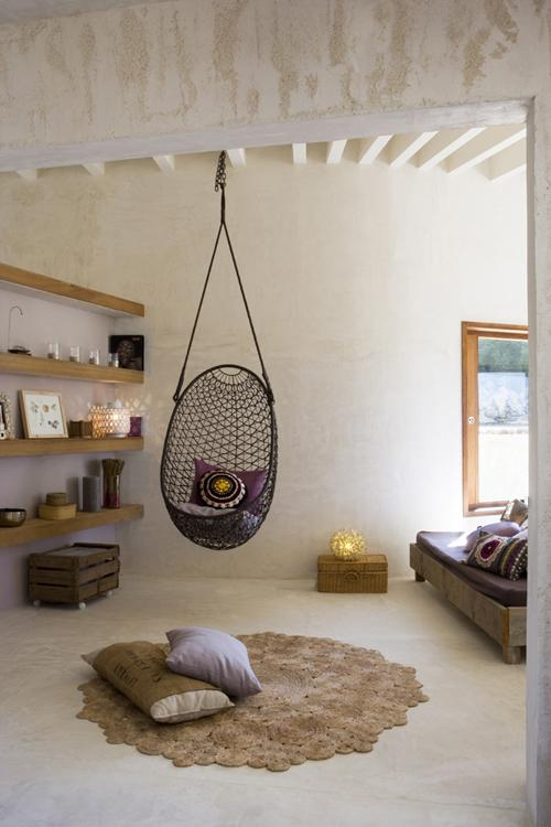 Une Maison Naturelle Et Féminine En Espagne - Paperblog