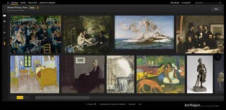 Google Art Project Musée d'Orsay