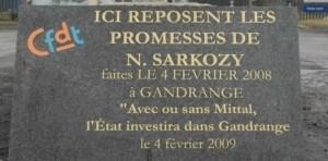 Sarkozy a insulté les coeurs d'acier, nous saurons le lui faire payer