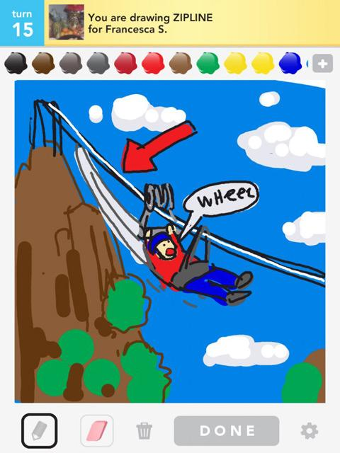 draw something zipline