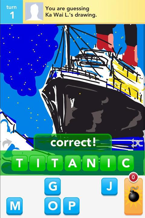 draw something titanic