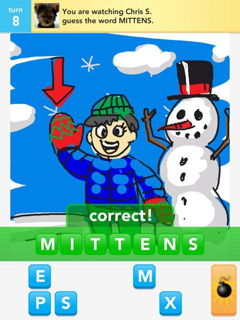 draw something mittens