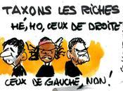 Patrick Bruel, Yannick Noah Jamel Debbouze gauches riches rebellent