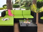meubles design autour piscine