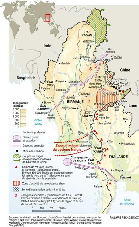Fête des voisins ou la géostratégie de la Birmanie