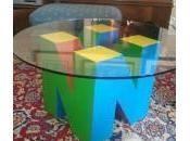 [Idée Déco] table basse Nintendo branche manette
