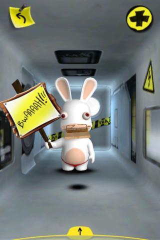 Les lapins crétins, la très grosse Appli sur iPhone...