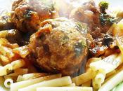 Boulettes poulet olives.
