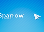 Sparrow pour iPhone maintenant disponible l'App Store