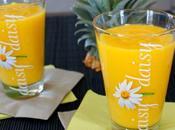 smoothie sacrément exotique mangue, ananas citron vert