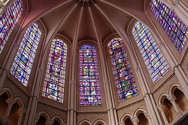 Resultat d'imatges de Chartres vitraux