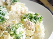 Tagliatelles saumon brocolis