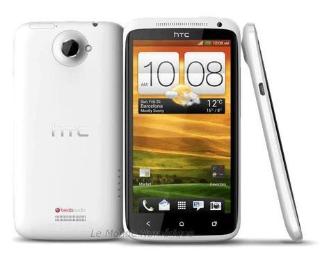 Test du smartphone HTC One X sous Android 4 Ice Cream Sandwich avec Nvidia Tegra 3