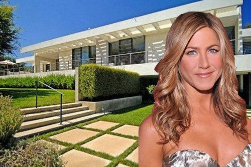 { Maison de Star } La villa de Jennifer Aniston à Bel Air
