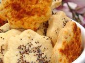 Biscuits Vache pour l'apéritif version sésame pavot/paprika
