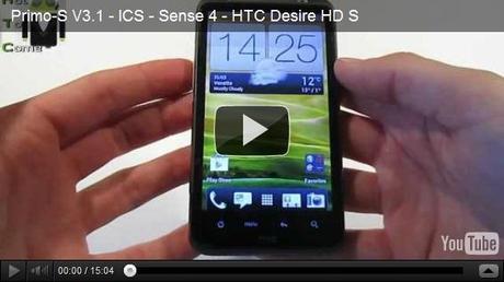 Flash HTC Desire HD/S avec Primo-S, une ROM sous Android 4.0.3 avec Sense 4.0 porté d'HTC One V