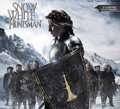Calendrier 2013 de Snow White and The Huntsman