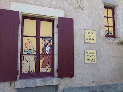 Petite visite de Moulinsart