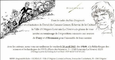 Expositions BD du 16 au 23 avril 2012