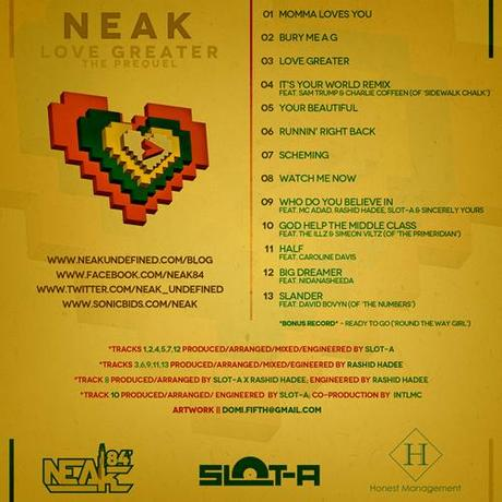 Album: Neak – Love Greater the Prequel (Deluxe Album)