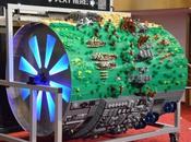 LEGO diorama Star Wars joue thème principal saga