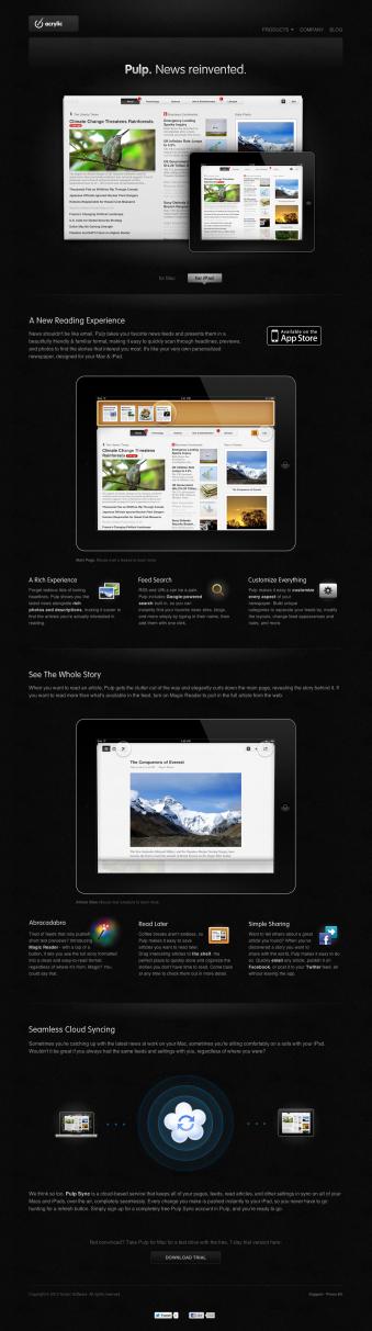 Apple et 20 sites web à couper le souffle!