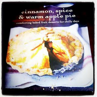 Cinnamon, Spice and warm apple pie baking book