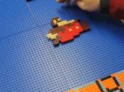 homme veut construire niveau Mario Lego