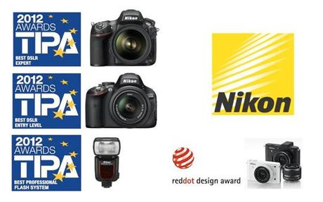 Nikon Tipa Red Dot Awards 2012