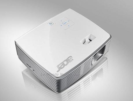 Acer lance un nouveau vidéoprojecteur de poche LED compatible DLP 3D, le K130