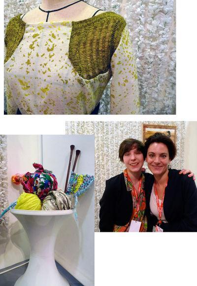 3 photos, Juliette Imbert et Céline Montoussé à Dinard ©Céline Vautard