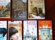 Achats nouveaux livres réflexion printanière