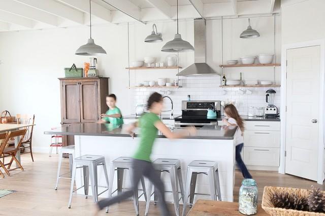 Visite Déco } Une Belle Maison Entre Campagne Et Mer - Paperblog
