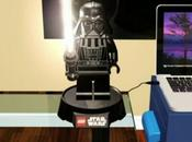 Dark Vador peut aussi servir lampe bureau