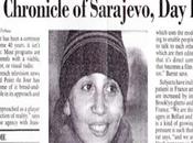 """Sarajevo: Street Under Siege"" dans ville assiégée Sarajevo"