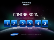 "Galaxy SIII Samsung démarre compte rebours sous slogan ""the Next Step"