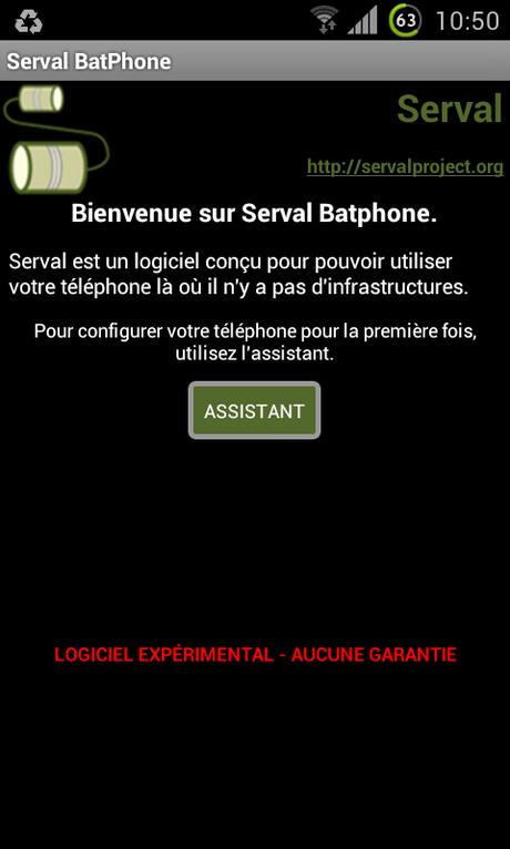 Serval Batphone : Le projet qui taquine les opérateurs…
