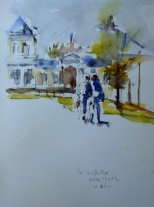 Marathon international du croquis ou Sketchcrawl