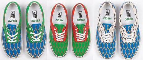 Une première collaboration pour Vans et Kenzo … un partenariat pour des chaussures hautes en couleur