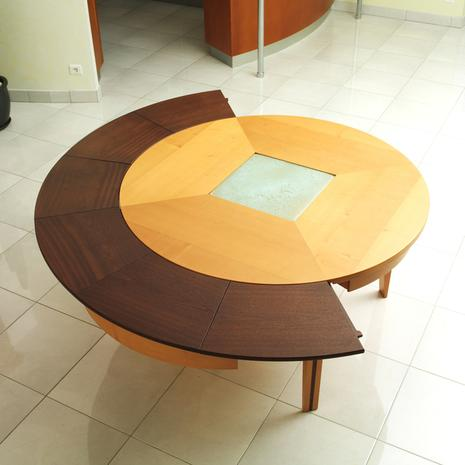 Design house lancement de braun woodline la premi re for Table extensible quebec
